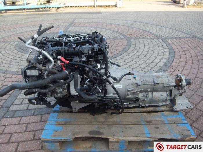 BMW 520D F10 ENGINE 09-2013 N47D20O1 1995C EU6 W/ AUTOMATIC GEARBOX GA8HP-45Z