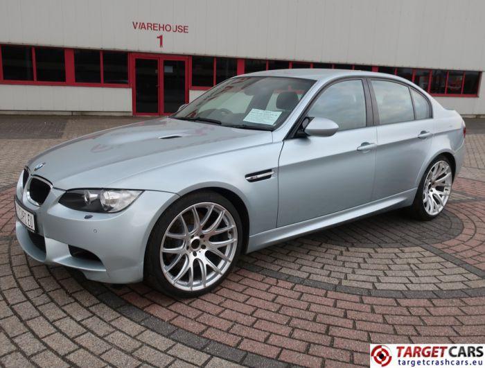 BMW M3 E90 SEDAN 4.0I V8 420HP MANUAL 6-SPEED SILVER 06-08 57444M RHD