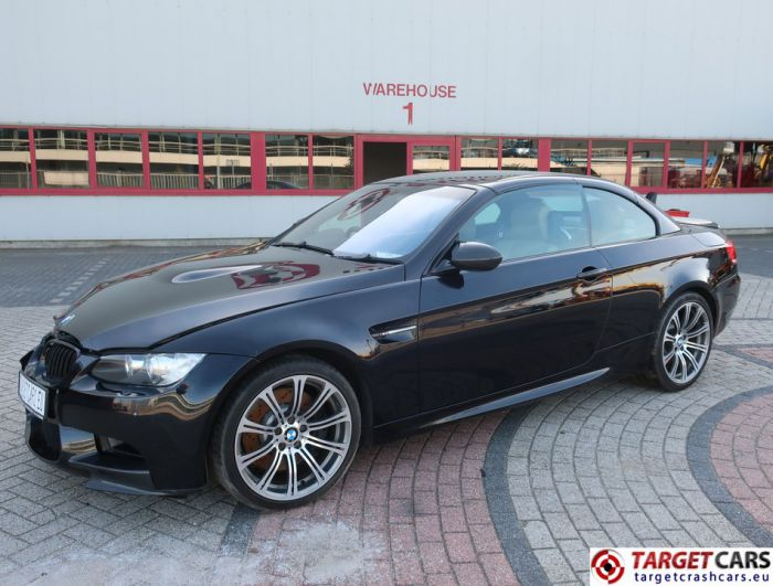 BMW M3 E93 CABRIO 4.0L V8 420HP M-DCT DRIVELOGIC 06-08 BLACK 71263MIL RHD