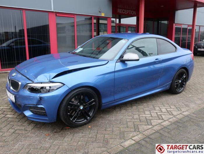 BMW M240I F22 COUPE MANUAL M-SPORT 07-18 42424KM BLUE LHD