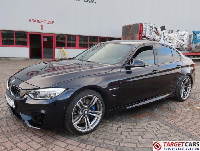 BMW M3 F80 SEDAN 431HP M-DCT 07-14 BLACK 431HP 83798KM LHD