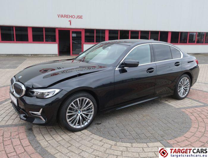 BMW 318D G20 AUT SEDAN AUT NAVI LEATHER LUXURY LINE 03-21 BLACK 136HP 6145KM LHD