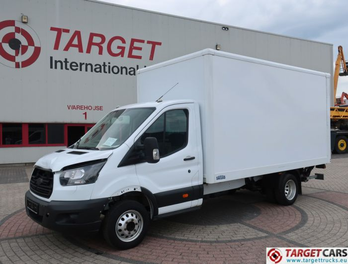 FORD TRANSIT 350 CLOSED BOX VAN W/TAILLIFT 131HP 06-17 83973KM EURO 6 LHD