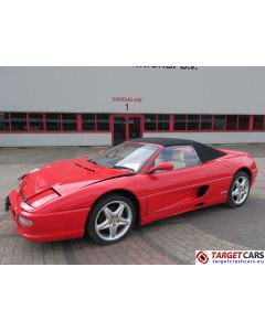 FERRARI F355 SPIDER 3.5L 381HP 04-97 RED 27075M RHD PARTS SALE ONLY