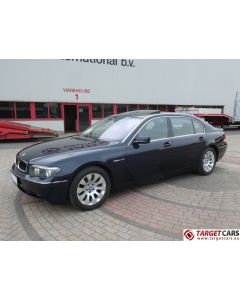 BMW 760LI LONG E66 LIMOUSINE 6.0L V12 445HP 09-03 BLUE 36334KM LHD