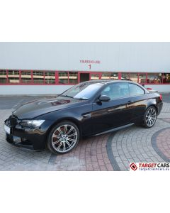 BMW M3 E93 CABRIO 4.0L V8 420HP M-DCT DRIVELOGIC 06-08 BLACK 71263MIL RHD