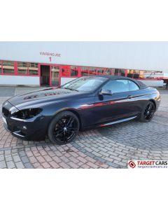 BMW 640D CABRIO F12 M-SPORT AUT 01-13 90000KM BLACK LHD