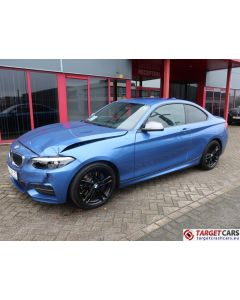 BMW M240I F22 COUPE MANUAL M-SPORT 07-18 42424KM BLUE LHD
