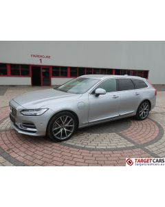 VOLVO V90 T8 TWIN ENGINE HYBRID AUT INSCRIPTION 07-17 34863KM SILVER LHD