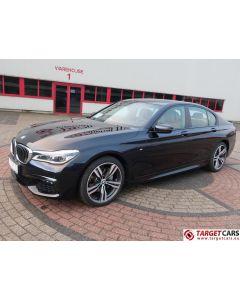 BMW 730D M-SPORT G11 AUT NAVI LEATHER 11-16 BLACK 265HP 17198KM LHD