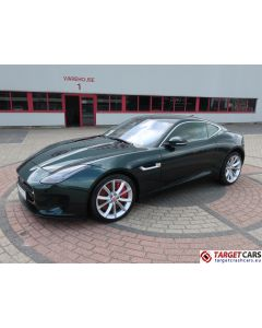 JAGUAR F-TYPE 3.0I V6 SUPERCHARGED R-DYNAMIC COUPE 381HP AUT 09-18 12000KM GREEN LHD